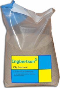 Quarzsand für Sandfilteranlage